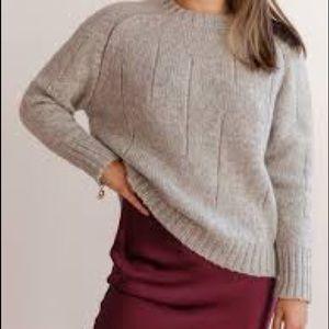 NWOT Sweet Romeo Gray Sweater